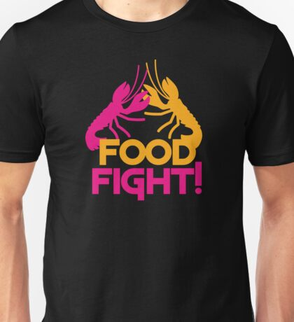 Food Fight with lobsters Unisex T-Shirt
