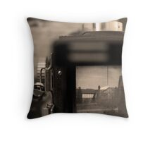 Squared Square Photography Throw Pillow