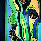 GREEN & BLUE by ANNETTE HAGGER