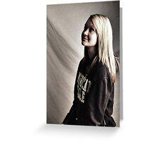 Kaylee Studio Portrait Greeting Card