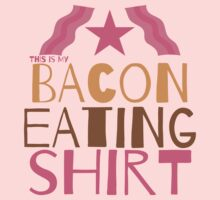 This is my BACON eating shirt Kids Clothes