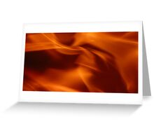 Silky fire Greeting Card