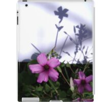 Flowers and Shadows iPad Case/Skin