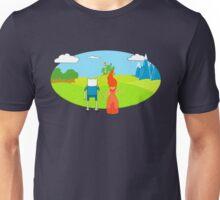 It's dangerous to go along Unisex T-Shirt