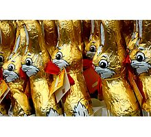 Easter Bunny - Collaboration^ Photographic Print