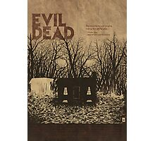 EVIL DEAD- ALTERNATIVE POSTER Photographic Print