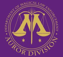 AUROR DIVISION Seal - gold - (Harry Potter) by HOBbitDAY