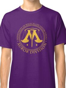AUROR DIVISION Seal - gold - (Harry Potter) Classic T-Shirt