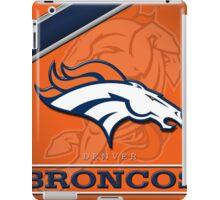 Denver Broncos iPad Case/Skin