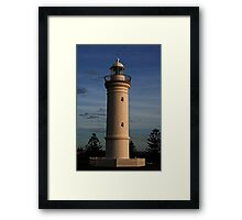 Lighthouse- Kiama Framed Print