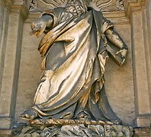 Statue of Jupiter/Zeus in Rome by Michael Brewer