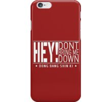 TVXQ - HEY! Don't Bring Me Down (White) iPhone Case/Skin