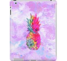Bright Neon Hawaiian Pineapple Tropical iPad Case/Skin