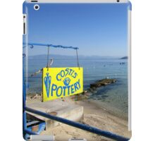 THE POTTER ON THE BEACH. iPad Case/Skin