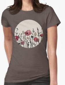 Summer Field (neutral remix) Womens Fitted T-Shirt