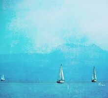 sailing blue by Fran E.
