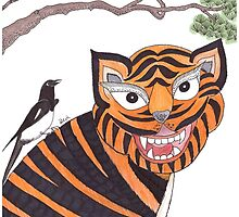 The Tiger and the Magpie by Devi Senthil