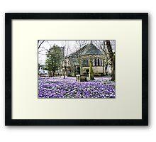 St Chads Poulton-Le-Fylde  Framed Print