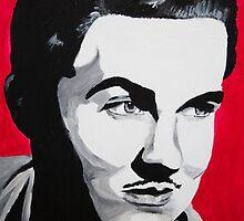 Ed Wood acrylic on canvas by Sarah Horsman