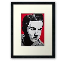 Ed Wood acrylic on canvas Framed Print