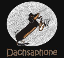 Dachsaphone by Diana-Lee Saville