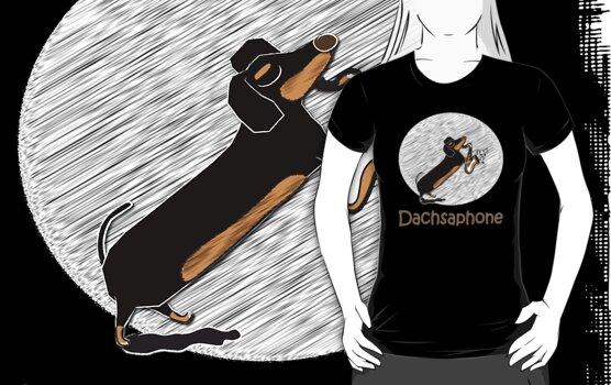 Dachsaphone by Diana-Lee Saville