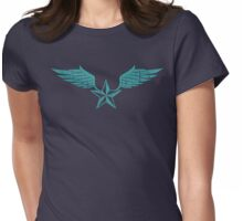 Flying Star Womens Fitted T-Shirt
