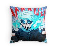 Yer a ghost, Vivi Throw Pillow