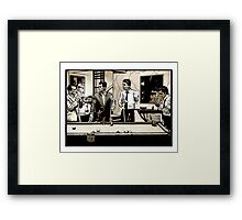 Zombie Rat Pack Framed Print