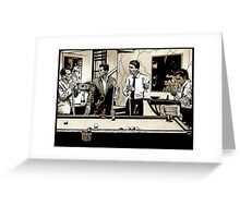 Zombie Rat Pack Greeting Card