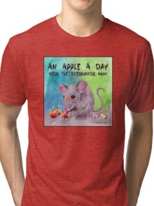 An Apple A Day Tri-blend T-Shirt