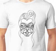 Sugar Skull Girl Unisex T-Shirt