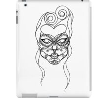 Sugar Skull Girl iPad Case/Skin