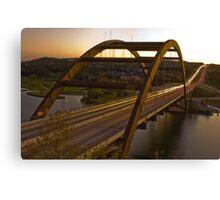 A 360 Bridge Sunset Canvas Print