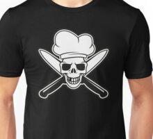 Chef skull Unisex T-Shirt
