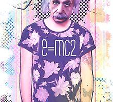 Hypstory - Albert Einstein by Brerballesteros