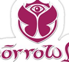 tomorrowland logo Sticker