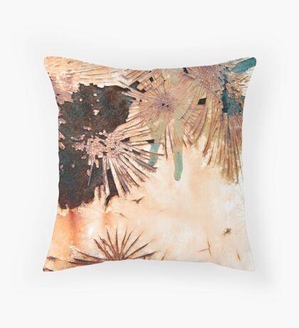 Desert Symphony Throw Pillow