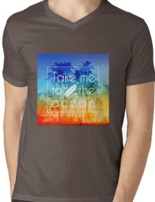 Take me to the ocean Mens V-Neck T-Shirt