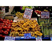 Fresh vegetables, Pike Street Market, Seattle, 2007 Photographic Print