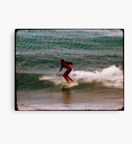 Retro Surf Canvas Print