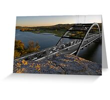 Industrial Color Saturation Greeting Card