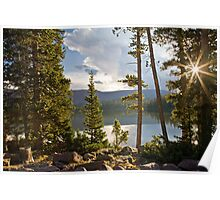 Spirit Lake Sunburst Poster
