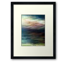 Colour & Motion Study #10 Framed Print