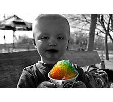 Snowcone anyone? Photographic Print
