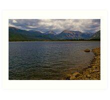 Twin Lakes Colorado Art Print