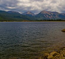 Twin Lakes Colorado by Roschetzky