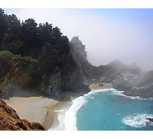 Waterfall - Big Sur Photographic Print