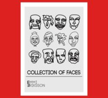 Collection of faces One Piece - Short Sleeve