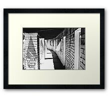 1-Star Motel Framed Print